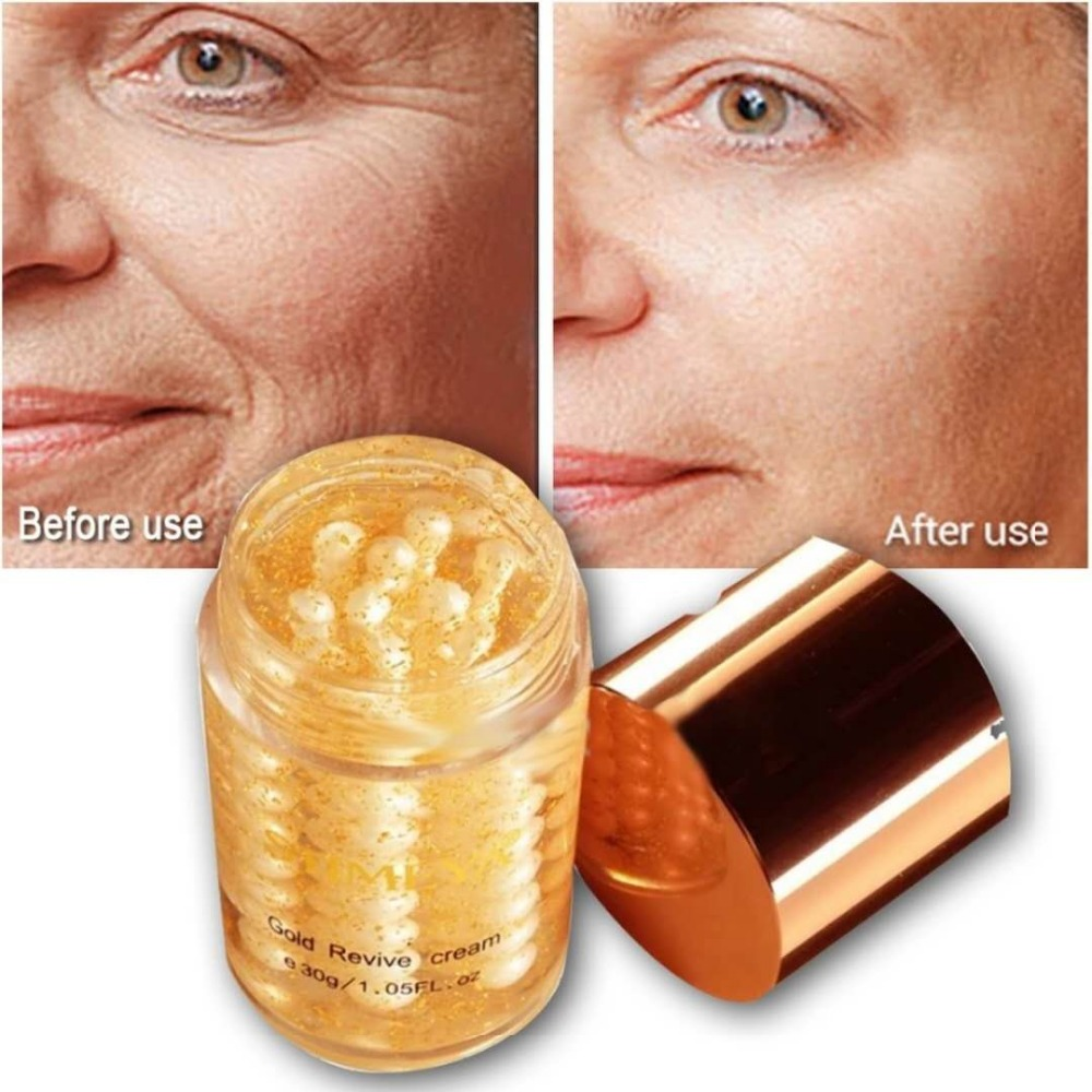 Face cream 24K gold pure pearl Skin Care whitening moisturizing Anti aging Wrinkle serum crema antiarrugas acido hialuronico 30g уличный настенный светильник brilliant artu 96128 86