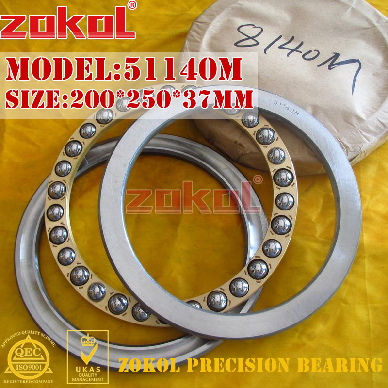 ZOKOL bearing 51140M  Thrust Ball Bearing  8140H 200*250*37mmZOKOL bearing 51140M  Thrust Ball Bearing  8140H 200*250*37mm