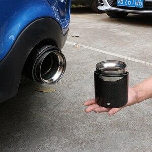 Image 5 - Hot koop Voor Mini Cooper auto styling koolstofvezel uitlaatpijpen Uitlaat geschikt voor R55 R56 R60 R61 F55 f56 F54 auto uitlaat