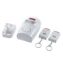 ИК Инфракрасный датчик Безопасности Детектор Главная Система 2 Пульт Дистанционного Управления Беспроводной ИК Инфракрасный Motion Датчик Охранной сигнализации Детектор Новый