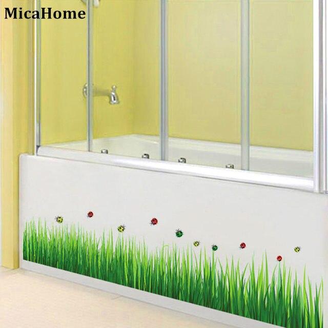 Kadybug Cornfield Green Grass Wall Sticker For Home Decor DIY ...