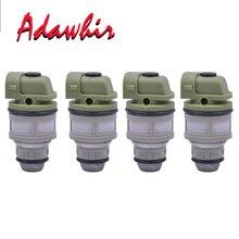 4 pieces Fuel Injector Nozzle For Fiat Palio Ford Escort Renault Clio 1.6V IWM500.01 IWM50001 501.002.02 50100202