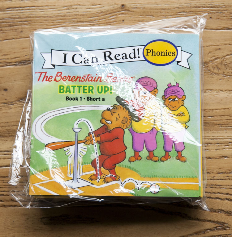 12 books one set I can read Phonics books my very first berenstain bears english book for children(China)