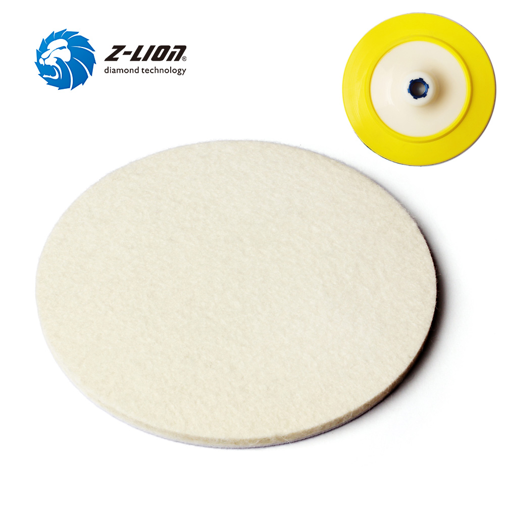 4PCS 4 Inch Polishing Buffer 100/% Natural Wool Polishing Pad Buffing Pads Kit