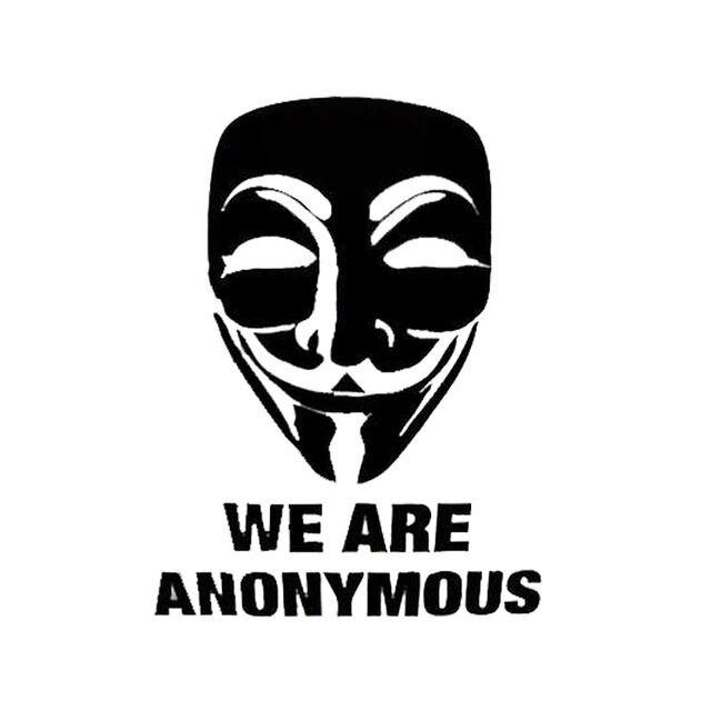 8 8 cm 11 6 cm v kami adalah klasik kata vendetta anonymous lucu jendela sticker aksesoris c5 0506