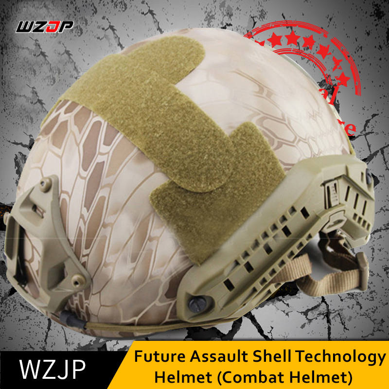 WZJP NEW Tactical Cycling Helmet Protective Leisure Style Airsoft Paintball Military Combat Sport Outdoor Hunting CS