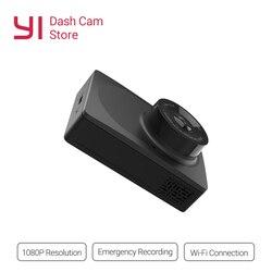 YI Compact Dash Camera 1080p Full HD czarna deska rozdzielcza samochodu z 2.7 calowym ekranem LCD 130 WDR obiektyw g-sensor Night Vision