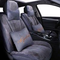 (Спереди и сзади) новые плюшевые авто чехлы на сиденья для lexus rx300 rx330 rx350 rx450h 250 is250 ct200h 2010 2009 2008 2007 стиль