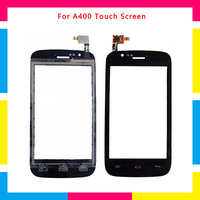 5Pcs/lot high quality Touch Screen Digitizer Sensor Outer Glass Lens Panel For Explay A400 + Tracking code