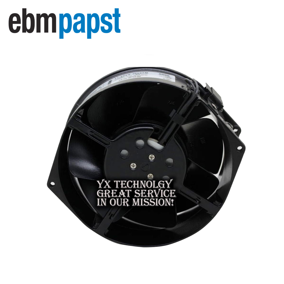ebm papst   7855ES W2S130-AA03-98 AC230V 50/ 0Hz 45  39W server inverter cooling fan  172*172*55mm new original ebm papst w2s130 aa03 71 ac230v 45w 150 55mm cooling fan
