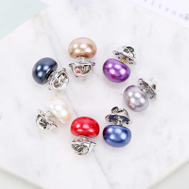 LNRRABC Imitation Pearl Brooches Pin Wedding Bridal Scarf Clip Lapel DIY Pin Gift For Women Clothing Accessories Wholesale