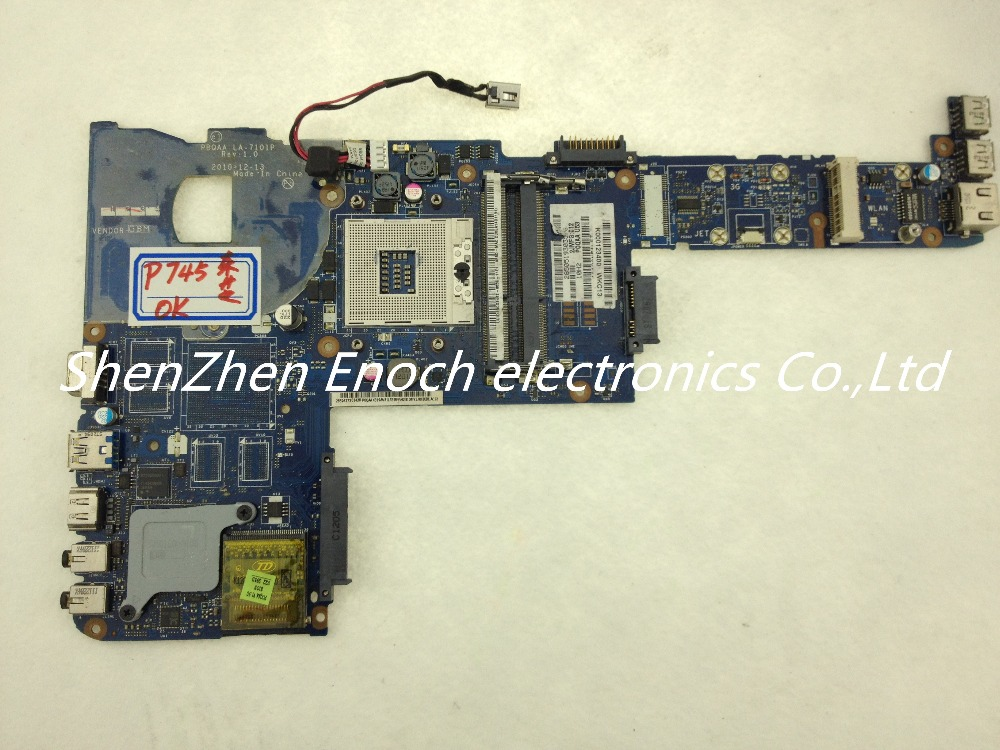 For Toshiba satellite P700 P740 P745 laptop MotherboardK000123400 PBQAA LA-7101P  stock No.999