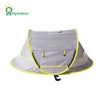 Hyindoor портативная детская кровать для путешествий UPF 50+ солнечные дорожные кроватки Pop Up Складная Пляжная палатка москитная сетка УФ Защита