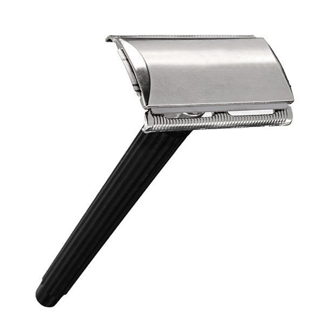 Traditional Classic Stainless Steel Manual Shaver Double Edge Blade Safety Razor M02363
