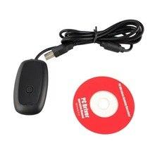 Para Microsoft XBOX Console 360 PC Gaming Receiver Adaptador USB Para Xbox 360 Controlador Gamepad USB do PC Sem Fio Receptor Adaptador