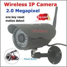 Full HD 1080 Wi-Fi Камера системы Безопасности 2.0MP Открытый P2P Удаленный просмотр водонепроницаемый Onvif беспроводной обнаружения движения IP CCTV Камера