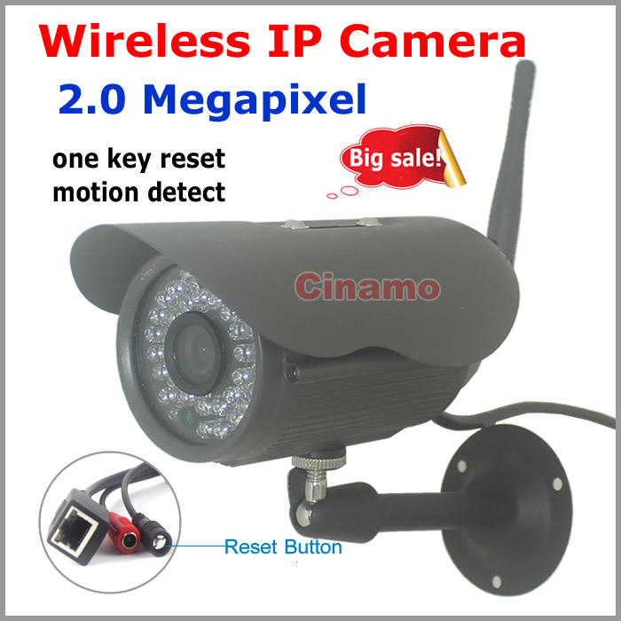 Full HD 1080 Wifi font b Camera b font Security system 2 0MP Outdoor P2P Remote