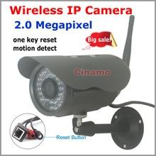 2.0MP Full HD 1080 Wifi sistema de Cámaras de Seguridad Al Aire Libre vista Remota impermeable Onvif P2P inalámbrico de detección de movimiento CCTV Cámara IP