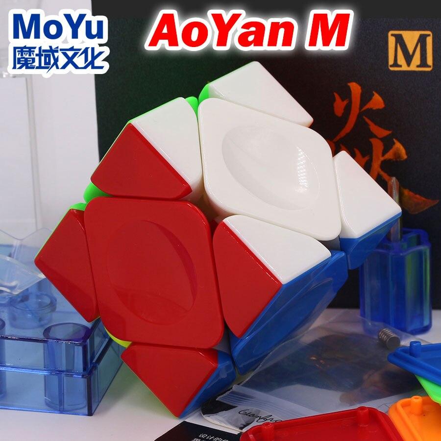 Puzzle Magic Cube MoYu Aoyan M Skew B Strange Shape Champion Professional Competition Speed Cube Educational Logic Game Toys