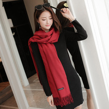 YI LIAN Brand Cashmere Scarf Women Not Hail Loss Top Quality Newest Smooth Warm Winter Scarf  YL-001
