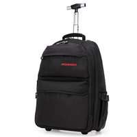 New Large Capacity Wheel Travel Trolley Bags Women's Trolley Bag Multifunctional Trolley Backpack Travel Suitcase Board Chassis