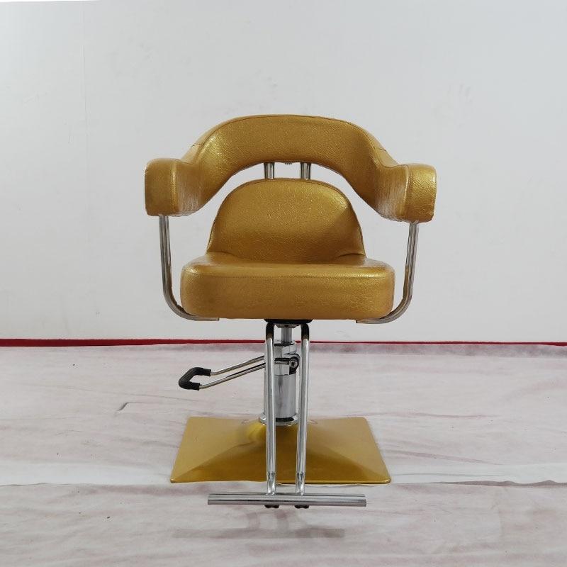 Kommerziellen Möbel Das Friseurstuhl Lift Hydraulischen Stuhl Europäischen Friseur Stuhl Diversifiziert In Der Verpackung Salon Möbel