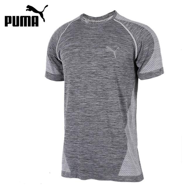 bc2be14cffd Original New Arrival 2017 PUMA evoKNIT Best Tee Men's T-shirts short sleeve  Sportswear