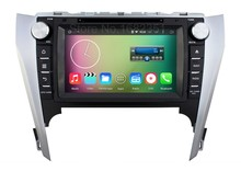 Quad core HD 1024*600 Android 5.1.1 Car DVD Player Radio for Toyota Camry 2012 2013 2014 with GPS BT WiFi Mirror link