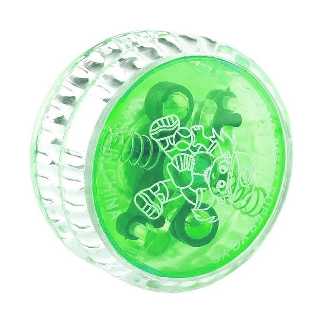 New Plastic Clear Light Up YoYo Balls Professional Yo-yo Children Adult Toys