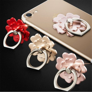 Phone Holder flower Finger ring high quality Holder for iPhone7 8 X Xiaomi Redmi NOTE7 mobile phone Holder