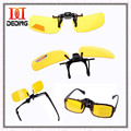 Multicolor New Polarized UV 400 Lenses Clip-on Flip-up Sunglasses Driving/Fishing Sunglasses S M L DD0189