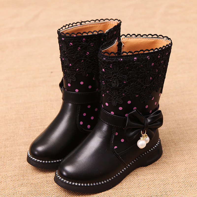 2017-new-high-insulated-boots-girls-snow-boots-childs-boots-general-leather-boots-3