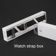 High quality leather Apple watch strap box watch band packaging retail packaging