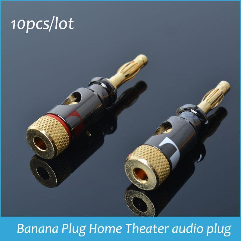 Speaker Wire For Lighting : Pcs nakamichi speaker wire free soldering banana plug