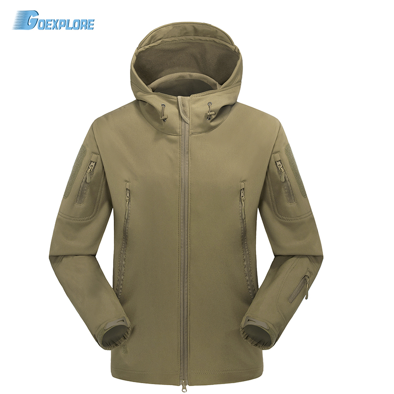 XS-3XL Mens Soft Shell TAD4.0 Military Tactical Jacket climbing camping Outwear plus size outdoor shark skin jacket outlife new style professional military tactical multifunction shovel outdoor camping survival folding spade tool equipment