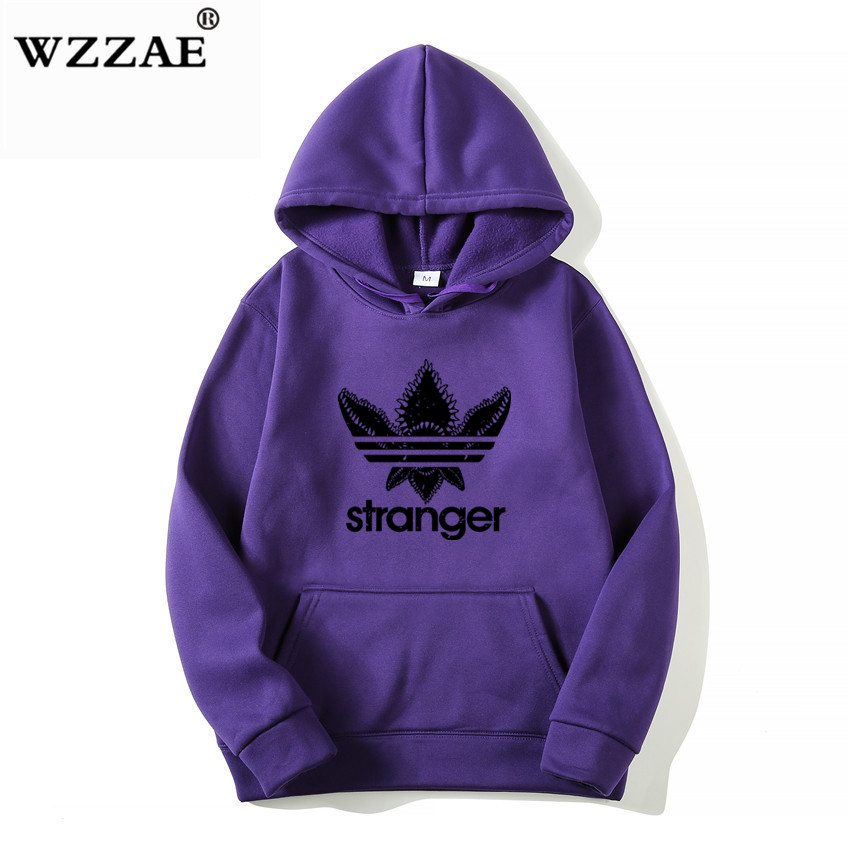 18 Brand New Fashion Stranger Things Cap Clothing Hooded Sweatshirt hoodies Men/Women Hip Hop Hoodies Plus Size Streetwear 9