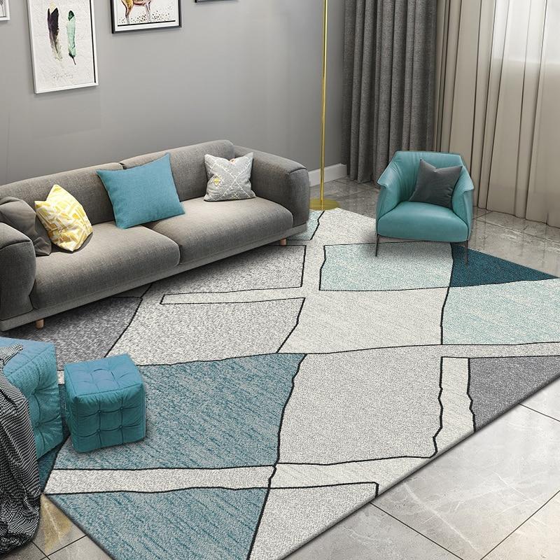 Europe Carpets For Living Room Home Bedroom Rug Nordic Sofa Coffee Table Floor Mat Decorative Study Room Carpet Kids Room Rugs