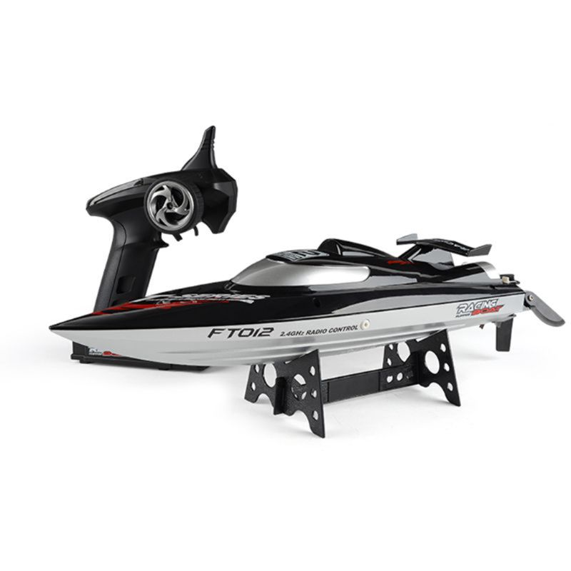 Feilun FT012 2 4G RC Boat 45km h High Speed Racing Boat Speedboat Ship with Brushless
