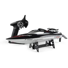 Feilun FT012 2.4G RC Boat 45km/h High Speed Racing Speedboat Ship with Brushless Motor Water Cooling System Flipped RTR