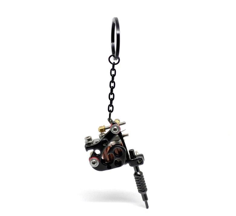MJartoria мини Надписи татуировки брелок держатель мода автомобилей брелок в стиле панк подарок для Для мужчин подвеска для ключей ...