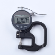 Buy online 0.001mm Digital Thickness Gauge Meter 10mm Portable LCD Electronic Micrometer micron Thickness Tester With RS232 Data Output