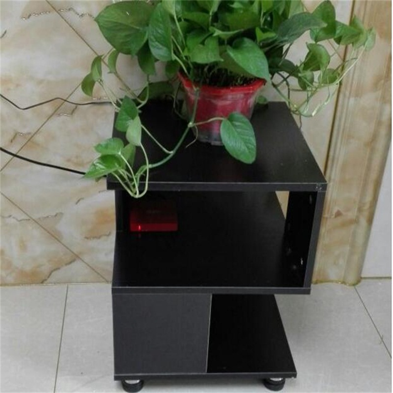 40*40*40CM Modern Wood Bedside Table Sofa Side Coffee Table Living Room Corner Table 40