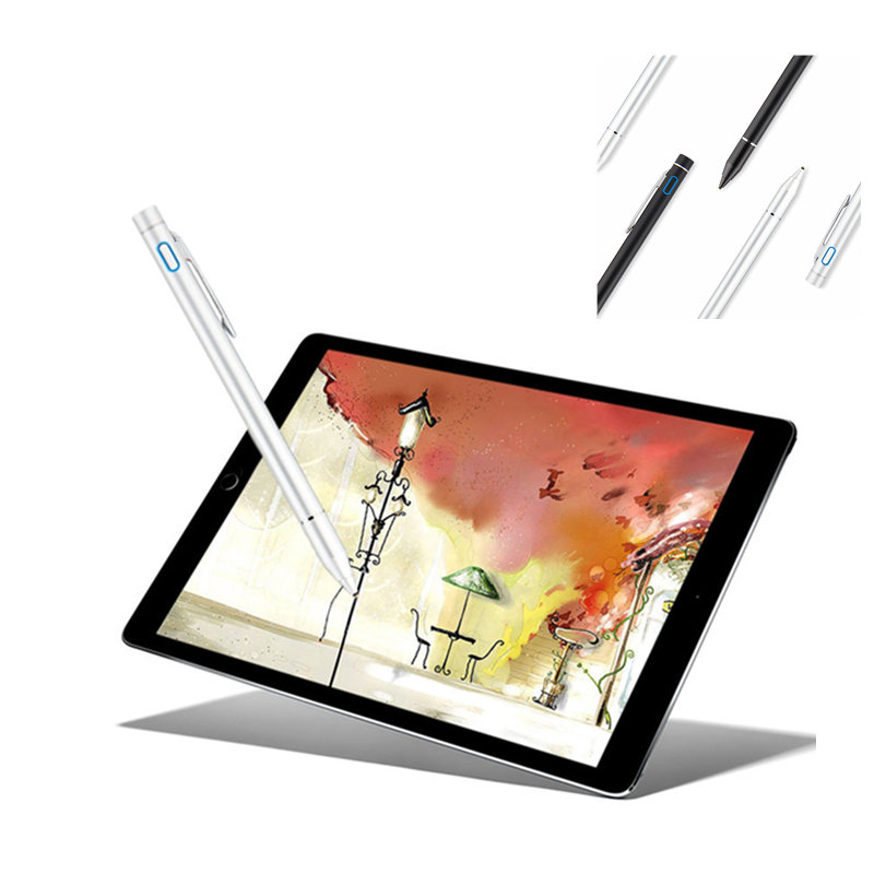 Active Stylus Capacitive <font><b>Screen</b></font> Stylus For <font><b>Teclast</b></font> M20 T20 4G LTE Network P80H P80 Pro P10 T10 <font><b>A10S</b></font> Quad Core Tablet Pen Pencil image