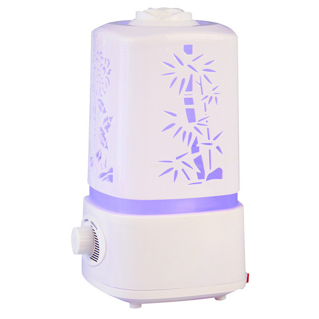 Air Humidifier Fogger LED Night Light Carve Aroma Diffuser Mist Maker Diffuser For Home Air Conditioning Appliances