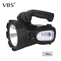 High Power Super Bright LED Searchlight Outdoor Handheld Portable Spotlight Lantern Rechargeable Flashlight Work Light Lamp