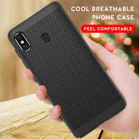 Breathable Heat Dissipation Matte Case For Xiaomi Redmi Note 7 6 Pro 5 Plus 5A Prime Y1 Note 4 4X Pro 4A 3 3S Phone Bags Case