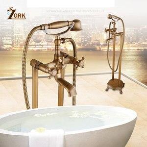ZGRK Brass Bathroom Faucet Bat