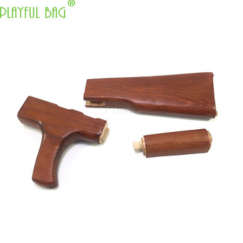 Outdoor sports special-purpose direct loading solid wood grip high-quality beech back support mahogany AK modified KJ30
