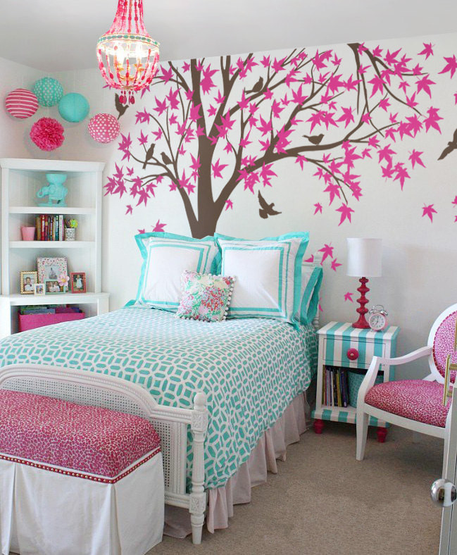 Large Mural 238X180cm Large Canada Maple Tree Wall Decals Baby Bedroom  Nursery Art Pic Vinyl Wall Stickers For Kids Room D972 In Wall Stickers  From Home ... Part 89
