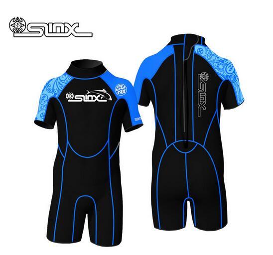 Slinx Neoprene 2Mm Wetsuit For Boy Girl Swimming Wetsuit -2695